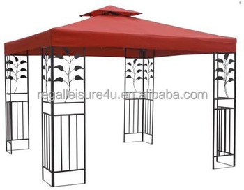 3x3 mt pavillon garten zelt markise metall pavillon buy product on. Black Bedroom Furniture Sets. Home Design Ideas