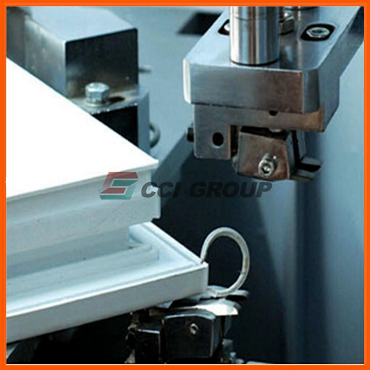 7.pvc upvc window corner cleaning machine