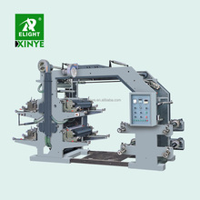 Factory Supplier 4 Colour Plastic Flexo Printing Press Machine