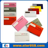 Plastic credit card usb flash drive manufacturer ,4gb 8gb usb business card promotional ,custom card usb stick
