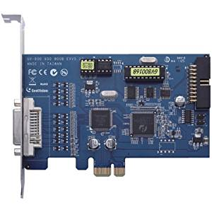 GV-800B-16-X Geovision 800B Series 16 Channel 120FPS DVR Card PCI-Express Interface