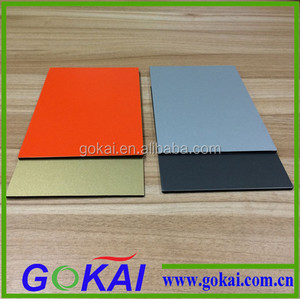 High Quality white Alucobond/Aluminum Composite panel(ACP) fire-proof material signage