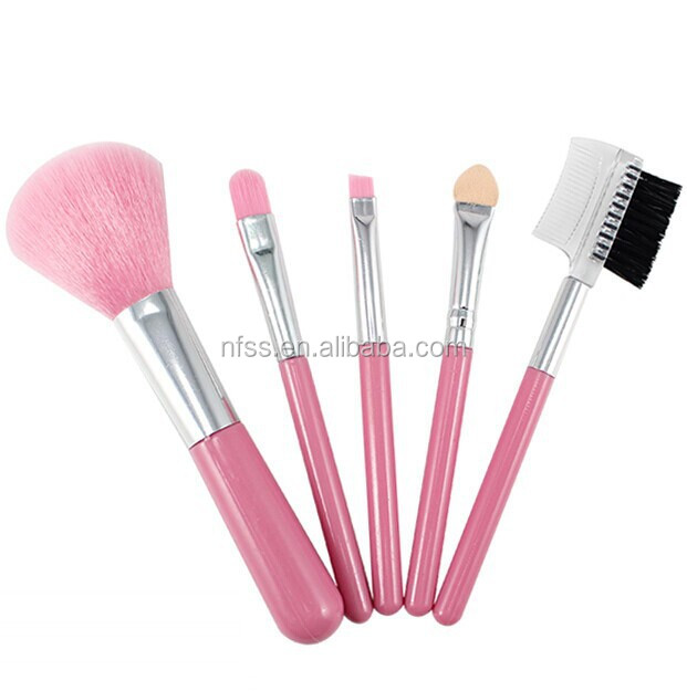 Pink Makeup Brush Set ,Pink Make Up Brush Set ,Pink Cosmetic Brush Set