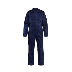Industrial Fireproof Safety Uniforms Workwear Mechanic Worker Uniforms