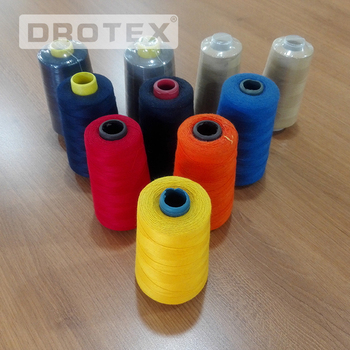 China wholesale high tenacity polyester flame retardant sewing thread