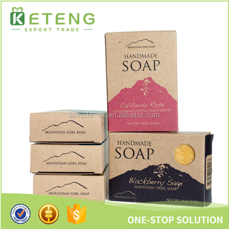 Luxury gift box manufactures for soap carton soap packaging box