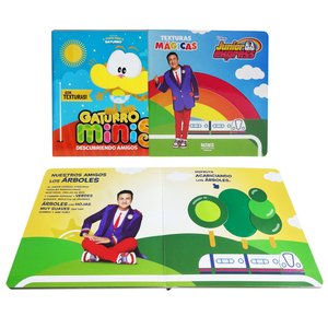 Popular Educational Touch&Feel Book with Coloring Print and Fast Delivery