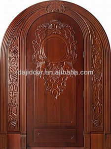 Natural Wood Bali Doors Carved DJ-S8733RST