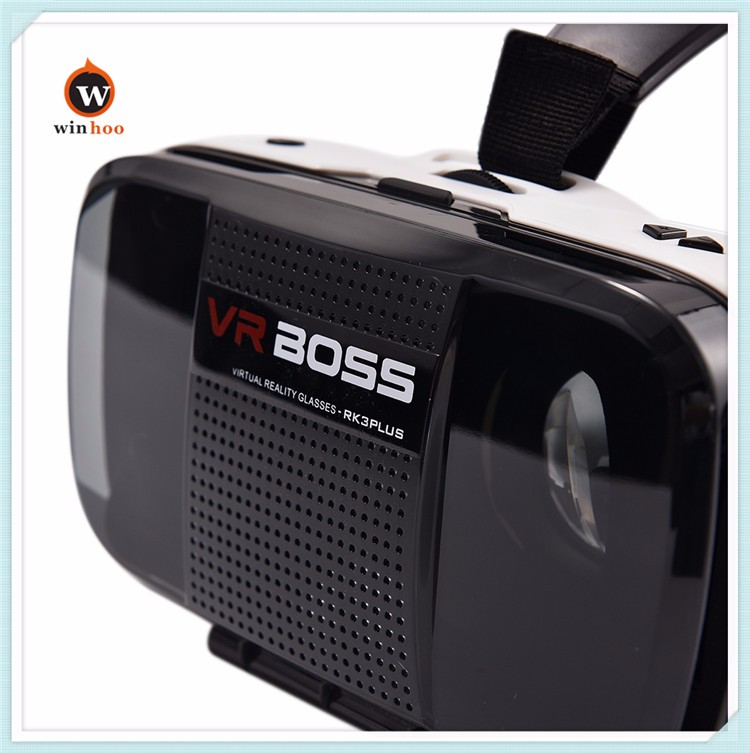 2016 high quality VR BOSS 3D Vr Box with distance adjustable for blue sex hot films video