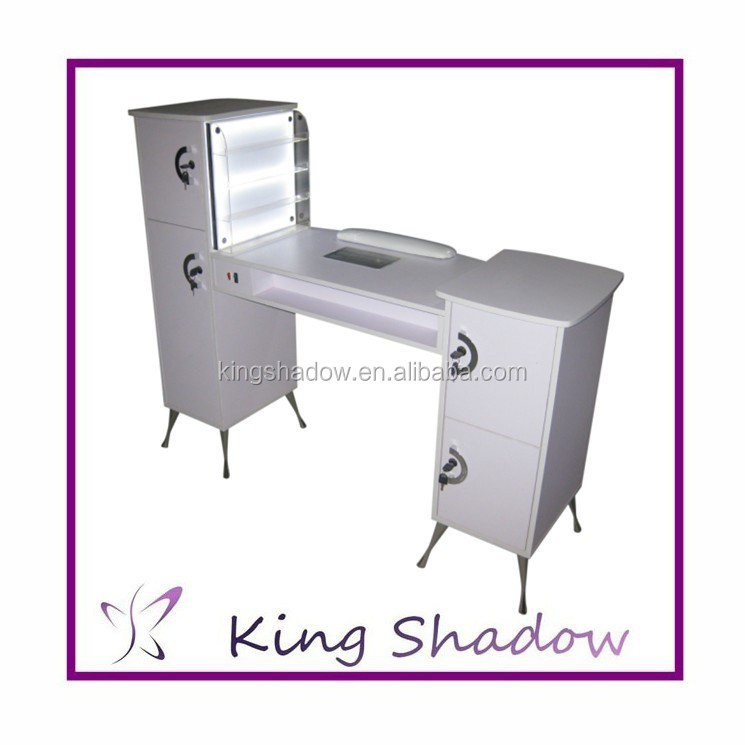 Nail Salon Furniture Manicure Table For Sale Nail Station With Light ...