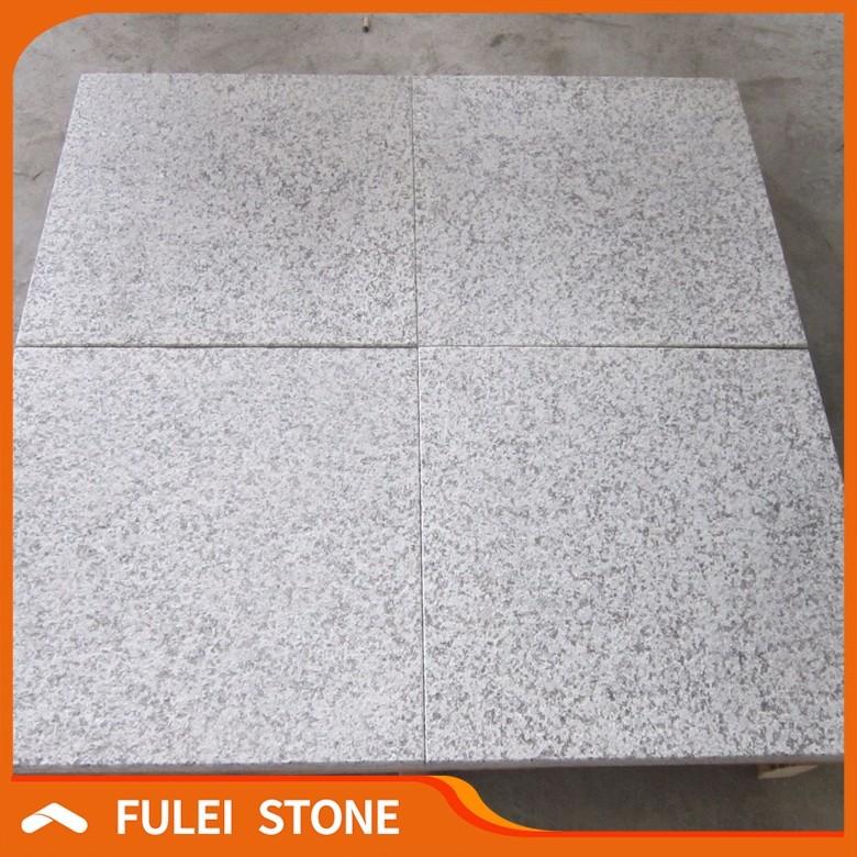 Flamed Outdoor Granite Floor Tile Car Parking Cheap 30x30