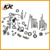 High performance YX150cc motorcycle engine parts gasket/bolt/nuts kits