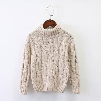 6bf70321284 Baby Clothes Boy Girls Turtleneck Kids Sweaters Soft Warm Children s  Sweater Coats