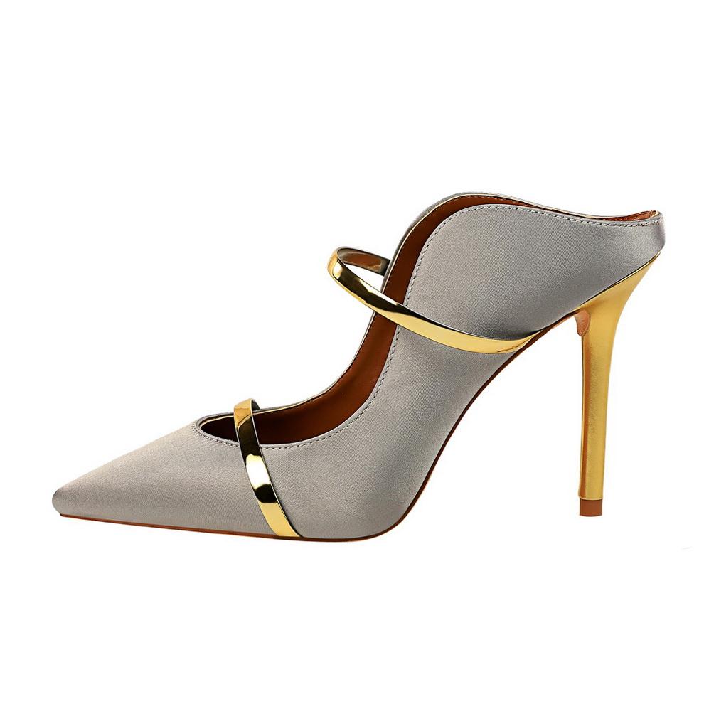 1668f345 2019 nuevo modelo señoras sexy zapatos de sandalias stiletto tacones altos  para las mujeres