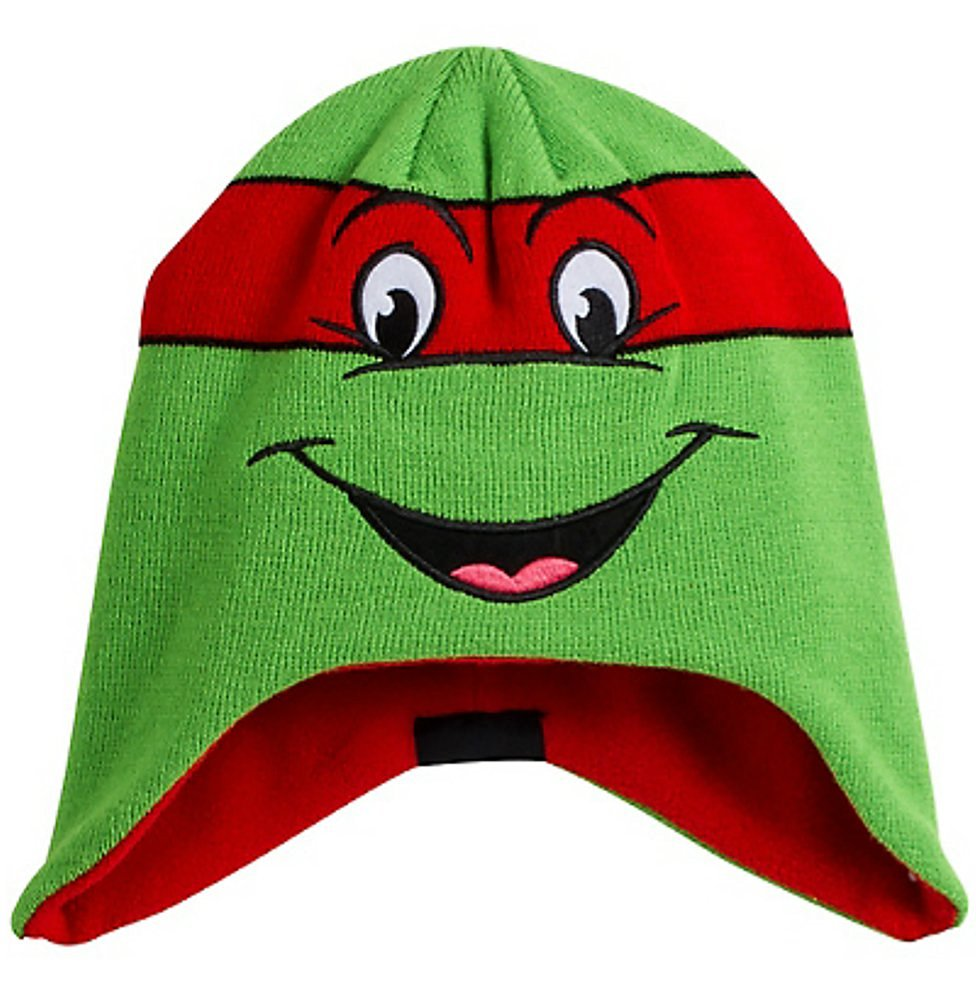 27c3579eb Teenage Mutant Ninja Turtles TMNT Licensed Peruvian Earflap Beanie Winter  Hat