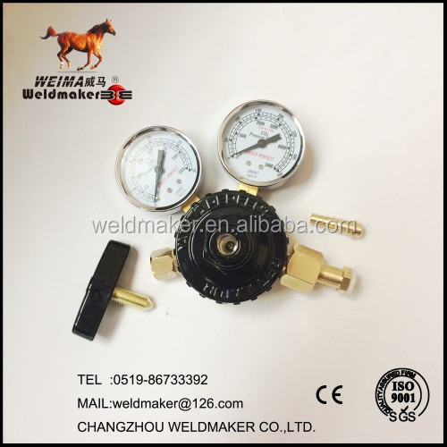 gas safety device argon co2 gas regulator