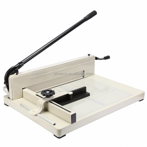 "New Heavy Duty Guillotine Paper Cutter 17"" Commercial Metal-Base A3 Trimmer"
