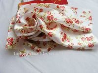 PolySatin, 100% Polyester Printed Satin fabric for women new fashion clothes, address