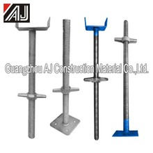 Strong Steel Scaffolding Adjustable Base Jack