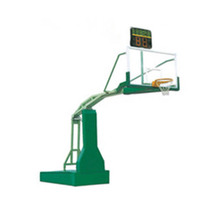 Newest indoor sport equipment standard basketball ring with hydraulic stand