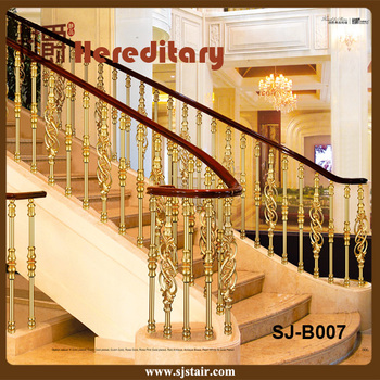 Casting Aluminum Balustrade Decorative Stair Railing