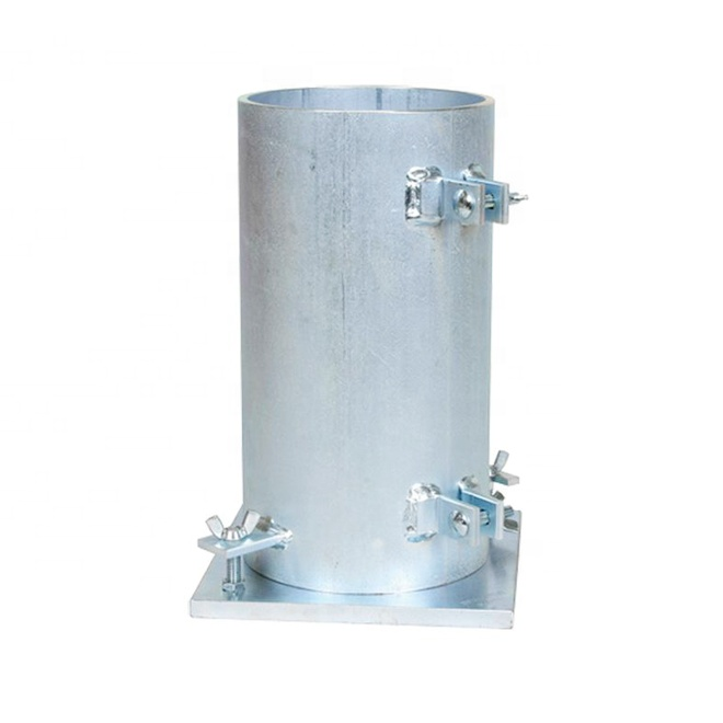 Quick-acting clamps welded Cylinder Concrete steel mould
