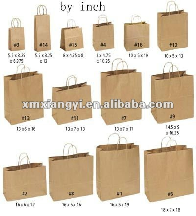 Personalize Gift Bags With Cotton Handle