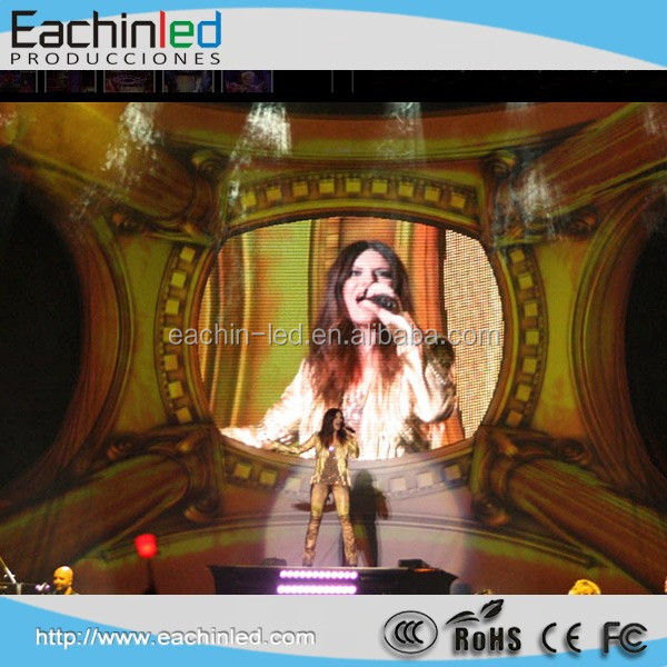 High definition and super thin event LED screen P5.2mm