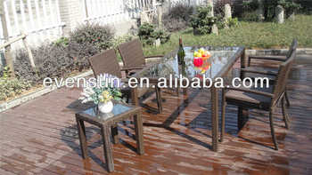 meubles en osier en plein air salle manger set de table et chaise buy product on. Black Bedroom Furniture Sets. Home Design Ideas