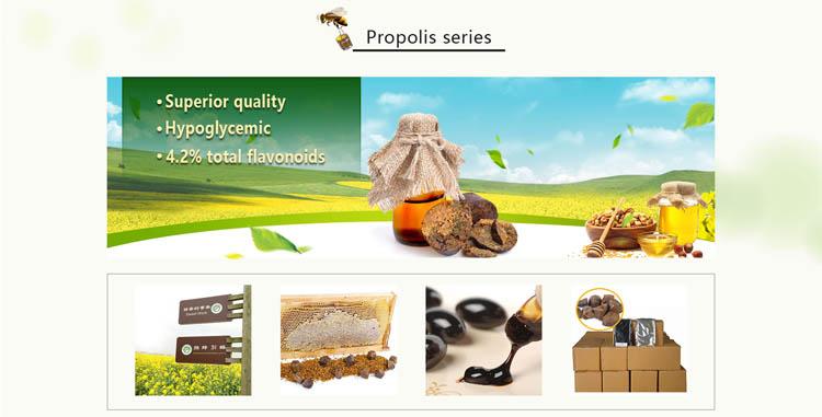 純粋な自然緑色の有機蜂蜜蜂プロポリス (30 ミリリットル)