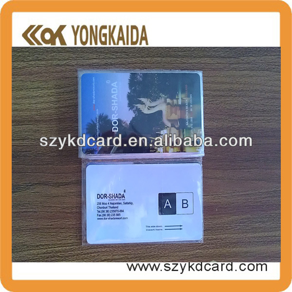 High power em4305 card/rfid key card with factory price