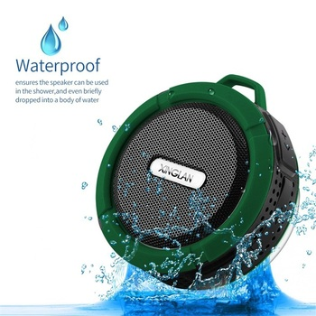 Portable Waterproof Outdoor Wireless Car Speaker C6 for iPhone xiaomi MP3 MP4