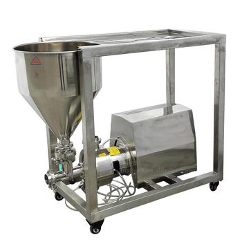 High Speed Emulsifier Table Blender for baby food blender with storage tank