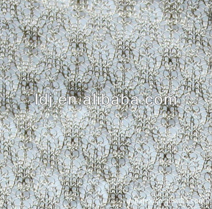 100% silver net fabric for curtain and mosquito net