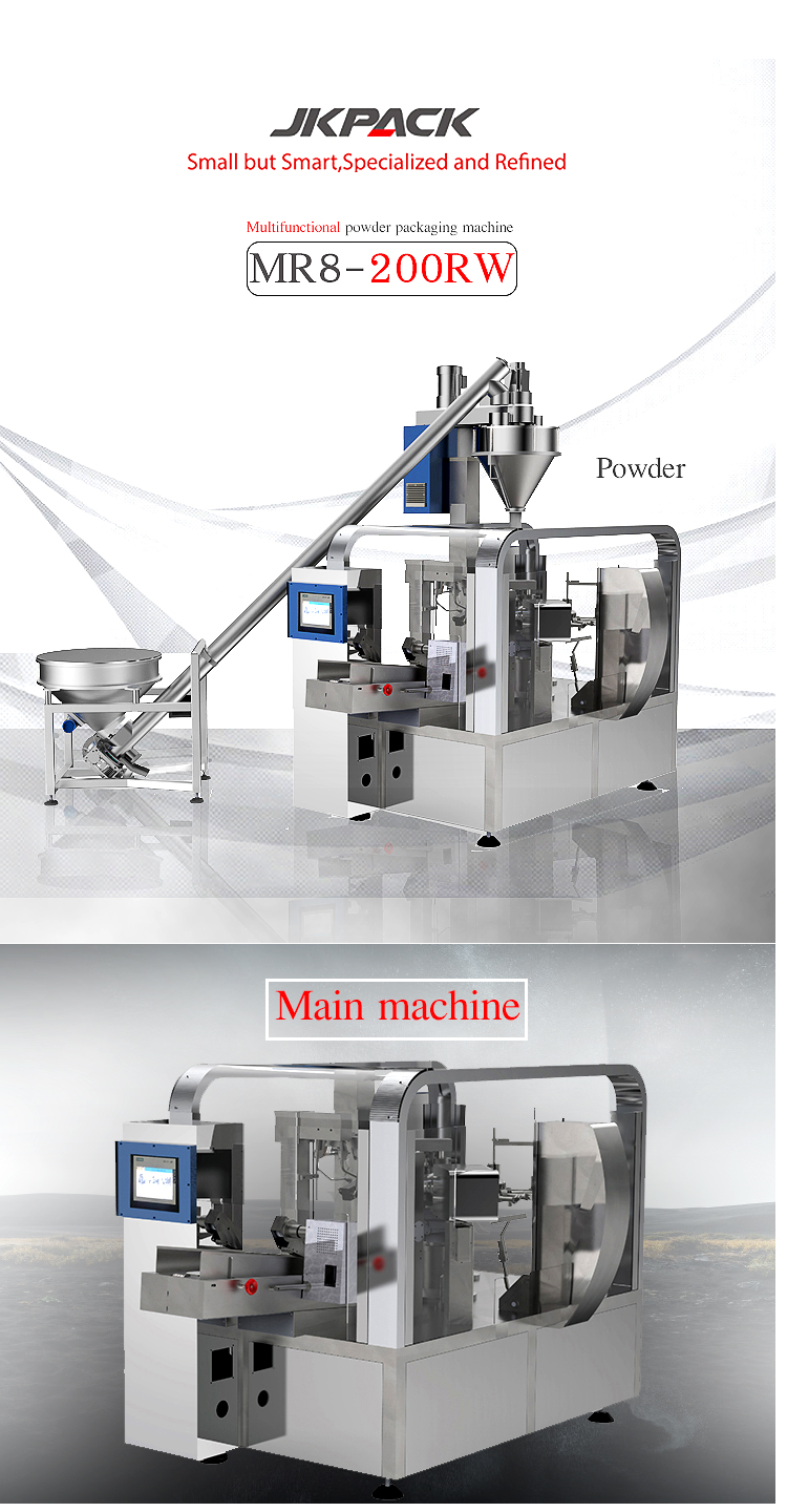 Auto Food filling & sealing packing machinery