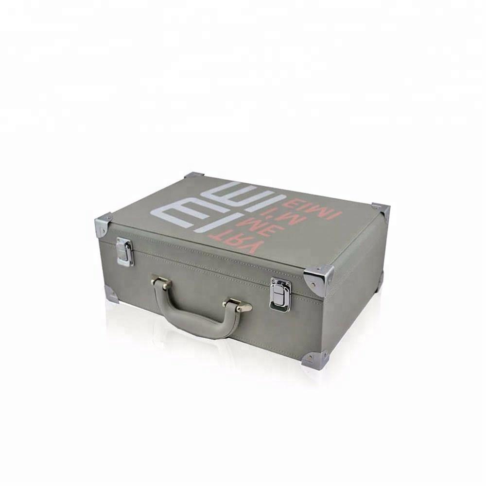 379fbf28f Impresión personalizada de viaje vintage decorativo mini cartón/Joyería de  cuero/de la maleta