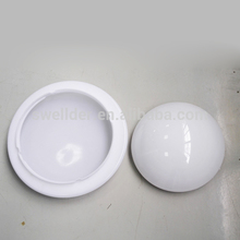 hot selling bulb milky plastic cover led lamp shade