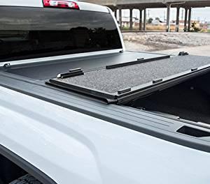 1e1e4a112e0 Premium Hard Folding Fiberglass Reinforced Tonneau Cover Dodge Ram 1500