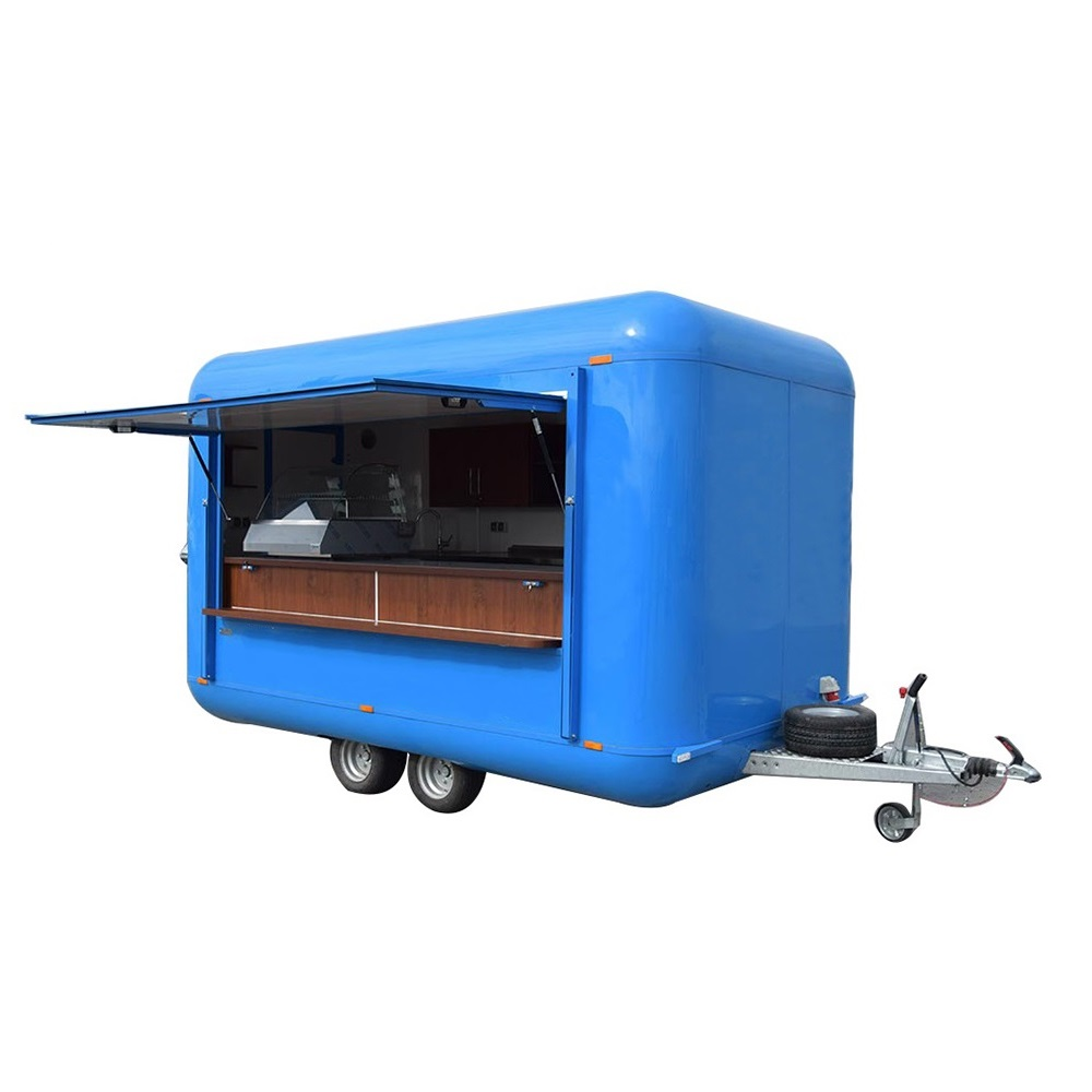 Cheaper Price China Professional food trucks food trailers for sale texas