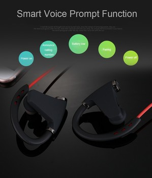 2017 new products sweatproof bluetooth mobile stereo wireless headset for TV and phone RN8