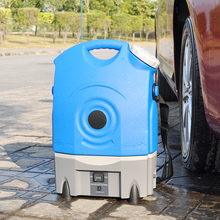 mobile electric vapor steam car washer,motorcycle washing machine, 12V DC diaphragm water pump sprayer