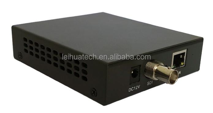 카메라 신호 IP H.264/H.265 SDI IP 변환기/Onvif RTSP/HTTP/RTMP 로컬 연결 NVR DVR 기계 원격 모니터
