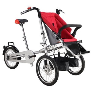 4 In 1 Baby Stroller Bicycle 22Inch Chinese Mom And Kids Bike Tricycle