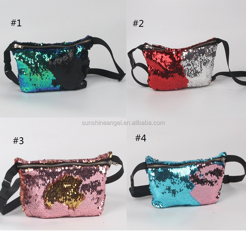 New Fashion Lady <strong>Bag</strong> Mermaid Pocket Multifunctional Sequin Storage <strong>Bag</strong> Cosmetic <strong>Bag</strong>