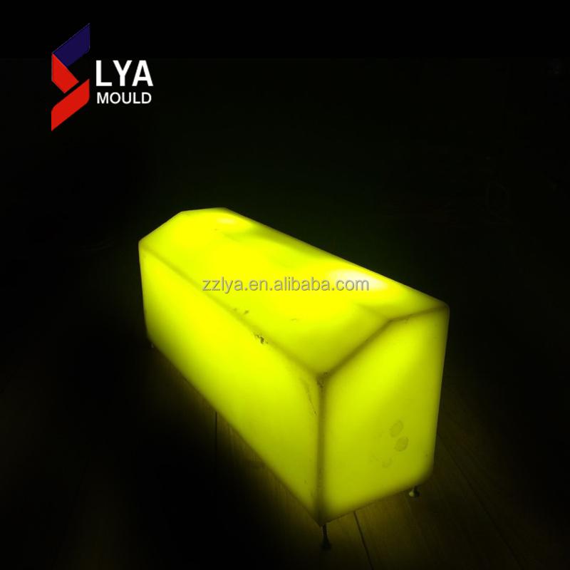 2018 Cheap Price Sidewalks Illuminated Plastic Led Curbs Stone
