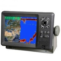 sonar fish finder combo marine GPS chart plotter With C-Map Card
