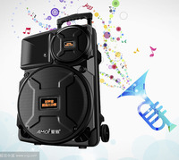 "Best Price ABS Plastic Case Strong Bass 12"" Active Trolley Speaker"