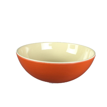 BPA certificated China supplier shallow melamine soup bowl