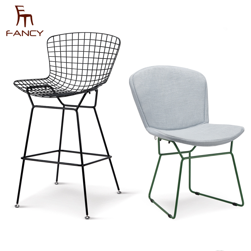 Wholesale customizable modern steel replica metal bertoia wire <strong>chair</strong>
