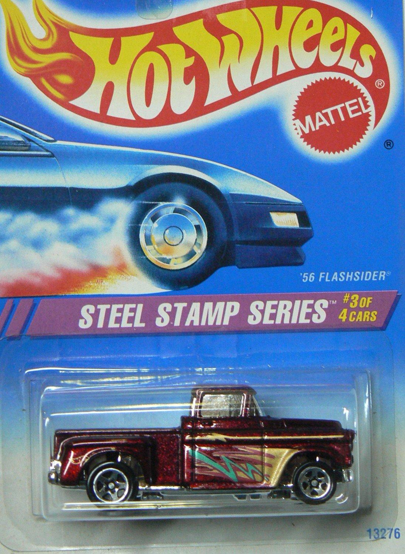 Mattel Hot Wheels 56 flashsider steel stamp series 3 of 4